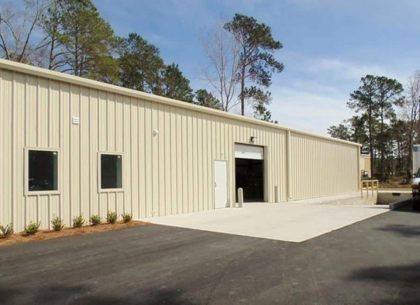 Laydown Yard and Warehouse Facility Barnesville, OH - civil site design services